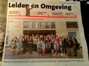 in het Leidsch Dagblad